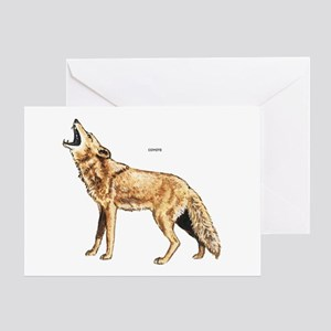 Coyote Wild Animal Greeting Card
