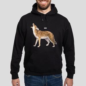 Coyote Wild Animal Hoodie (dark)