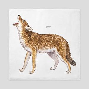 Coyote Wild Animal Queen Duvet