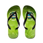 Earth Day Flip Flops