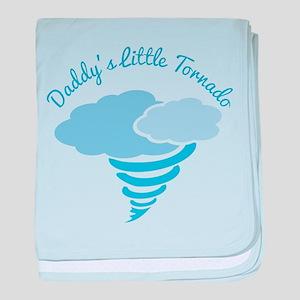 Daddy's Little Tornado baby blanket