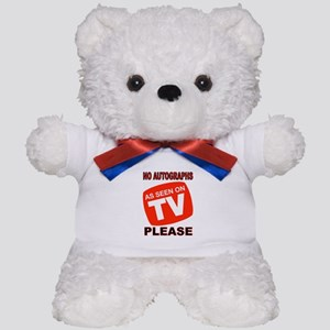 TV STAR Teddy Bear