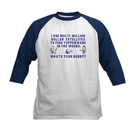 Geocache Kids Baseball Jersey