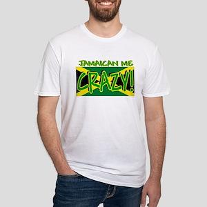 JAMAICA SHIRT, JAMAICAN ME CR Fitted T-Shirt