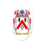 Bertorelli Oval Car Magnet