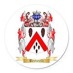 Bertorelli Round Car Magnet