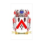 Bertorelli Sticker (Rectangle 50 pk)