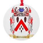 Bertoneau Round Ornament