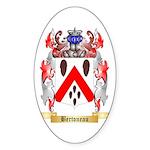 Bertoneau Sticker (Oval 50 pk)