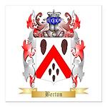 Berton Square Car Magnet 3