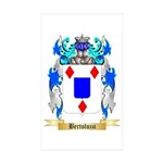 Bertoluzzi Sticker (Rectangle 50 pk)