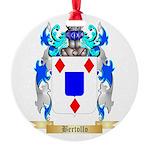 Bertollo Round Ornament