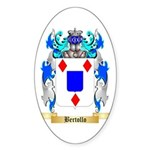 Bertollo Sticker (Oval 50 pk)