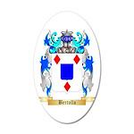 Bertollo 20x12 Oval Wall Decal