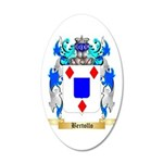 Bertollo 35x21 Oval Wall Decal