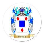 Bertollio Round Car Magnet