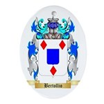 Bertollio Ornament (Oval)