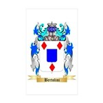Bertolini Sticker (Rectangle 10 pk)