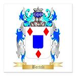 Bertoli Square Car Magnet 3