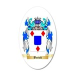 Bertoli 20x12 Oval Wall Decal