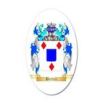 Bertoli 35x21 Oval Wall Decal