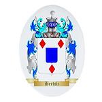 Bertoli Ornament (Oval)
