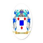 Bertoletti Oval Car Magnet