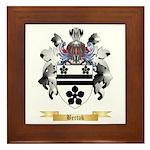 Bertok Framed Tile