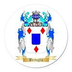Bertoglio Round Car Magnet