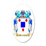 Bertoglio 35x21 Oval Wall Decal