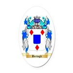Bertogli Oval Car Magnet