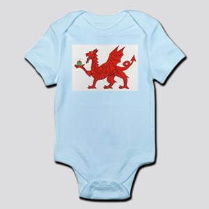Welsh Dragon Birthday Body Suit