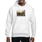 Hooded Babydoll Sweatshirt
