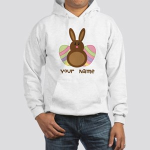 Personalized Easter Chocolate Bunny Hooded Sweatsh