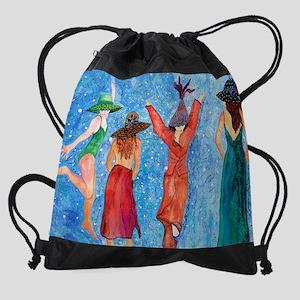 Well behaved women rarely make hist Drawstring Bag