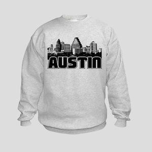 Austin Skyline Kids Sweatshirt