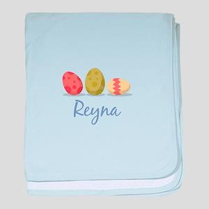 Easter Egg Reyna baby blanket