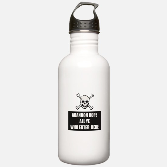 Abandon Hope Water Bottle