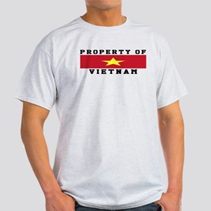 Property Of Vietnam Light T-Shirt