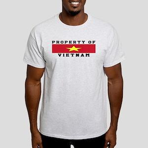 Property Of Vietnam Light T-Shirt
