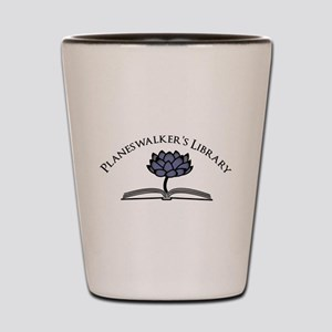 Planeswalker's Library Book and Lotus Shot Glass