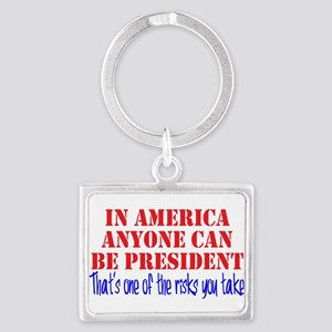 American President Landscape Keychain