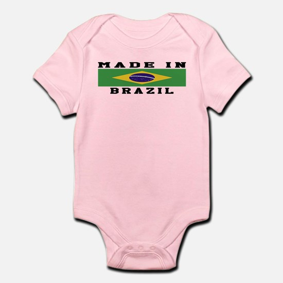 Brazil Made In Infant Bodysuit