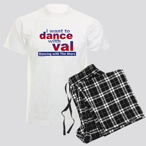I Want to Dance with Val Men's Light Pajamas