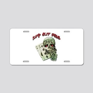 Jump Out Boys Aluminum License Plate