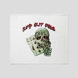 Jump Out Boys Throw Blanket