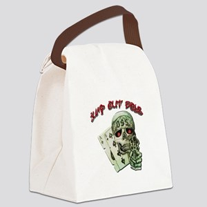 Jump Out Boys Canvas Lunch Bag