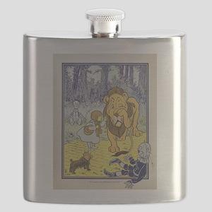 Vintage Wizard of Oz Flask