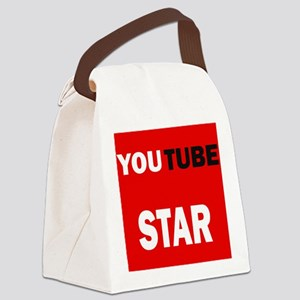 youtube star Canvas Lunch Bag