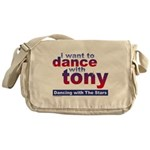 I Want to Dance with Tony Messenger Bag